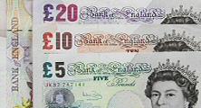 UK currency notes image